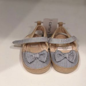 Carter's baby girl shoes